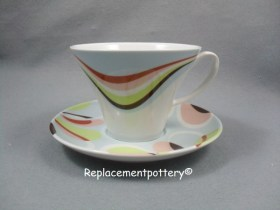 Optimist Cup & Floral Saucer - Robalo